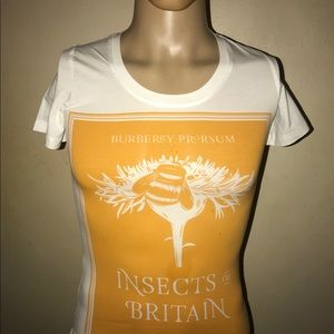 Burberry Tops - BURBERRY WOMEN'S Summer ORANGE T- Shirt Men Jeans